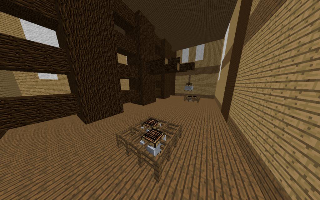 スカイブロック作業台島下層内装2