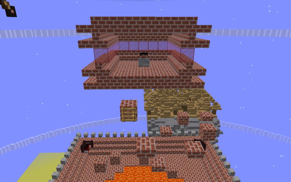 スカイブロックアスレチック島3階内装