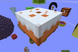 スカイブロックケーキ島攻略