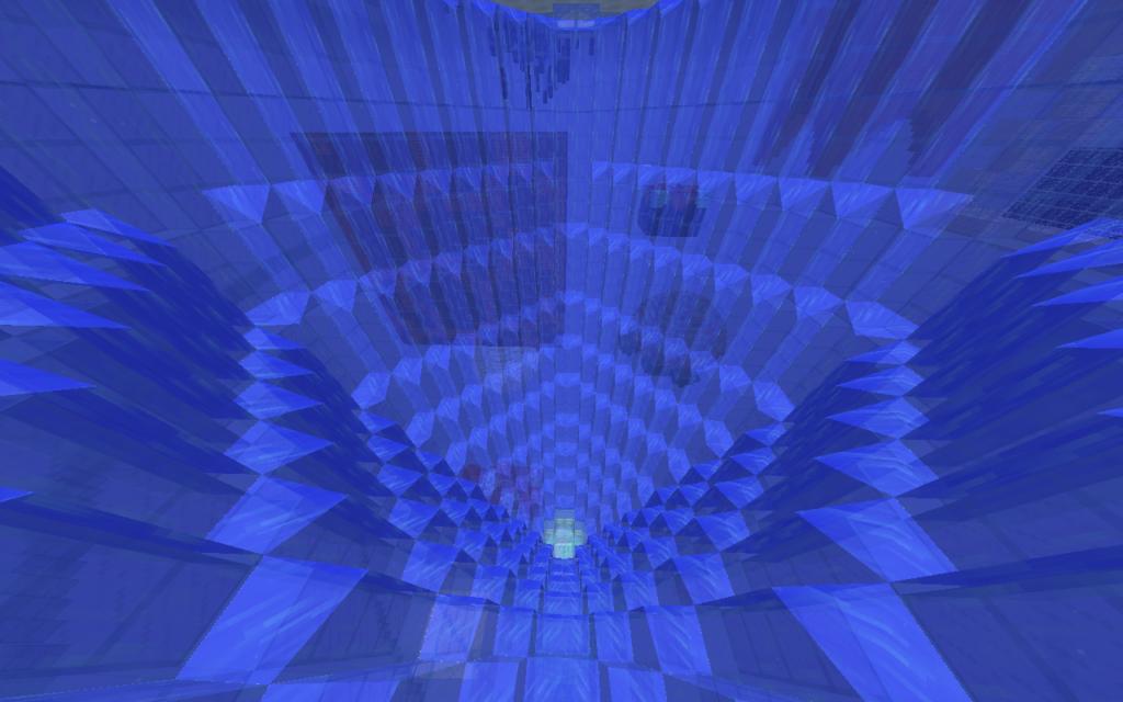 スカイブロック氷晶島上層内装2