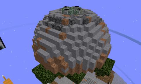 スカイブロック岩盤島攻略